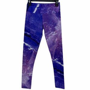 Goldsheep- Purple Galaxy Night Sky Leggings
